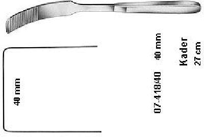 KADER SPATEL 40 MM BREIT 27,0 CM